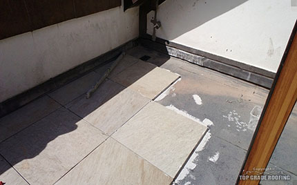 Tile Balcony Roof Repair