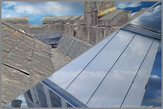 Zinc and Lead Roofing